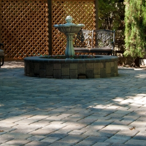 Interlock Paver Patio & Retaining Wall