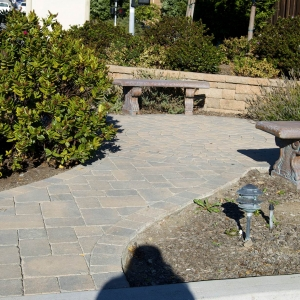 Paver Sitting Area