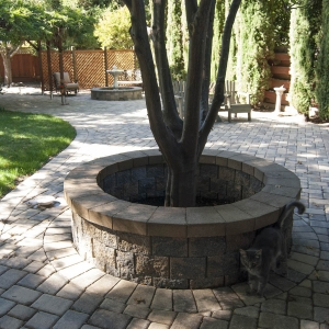 Retaining Wall & Patio Pavers