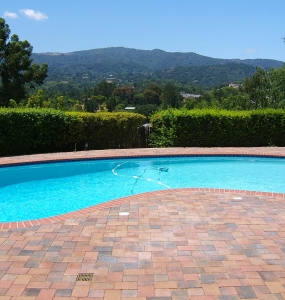 Interlock Pavers – Pool Deck