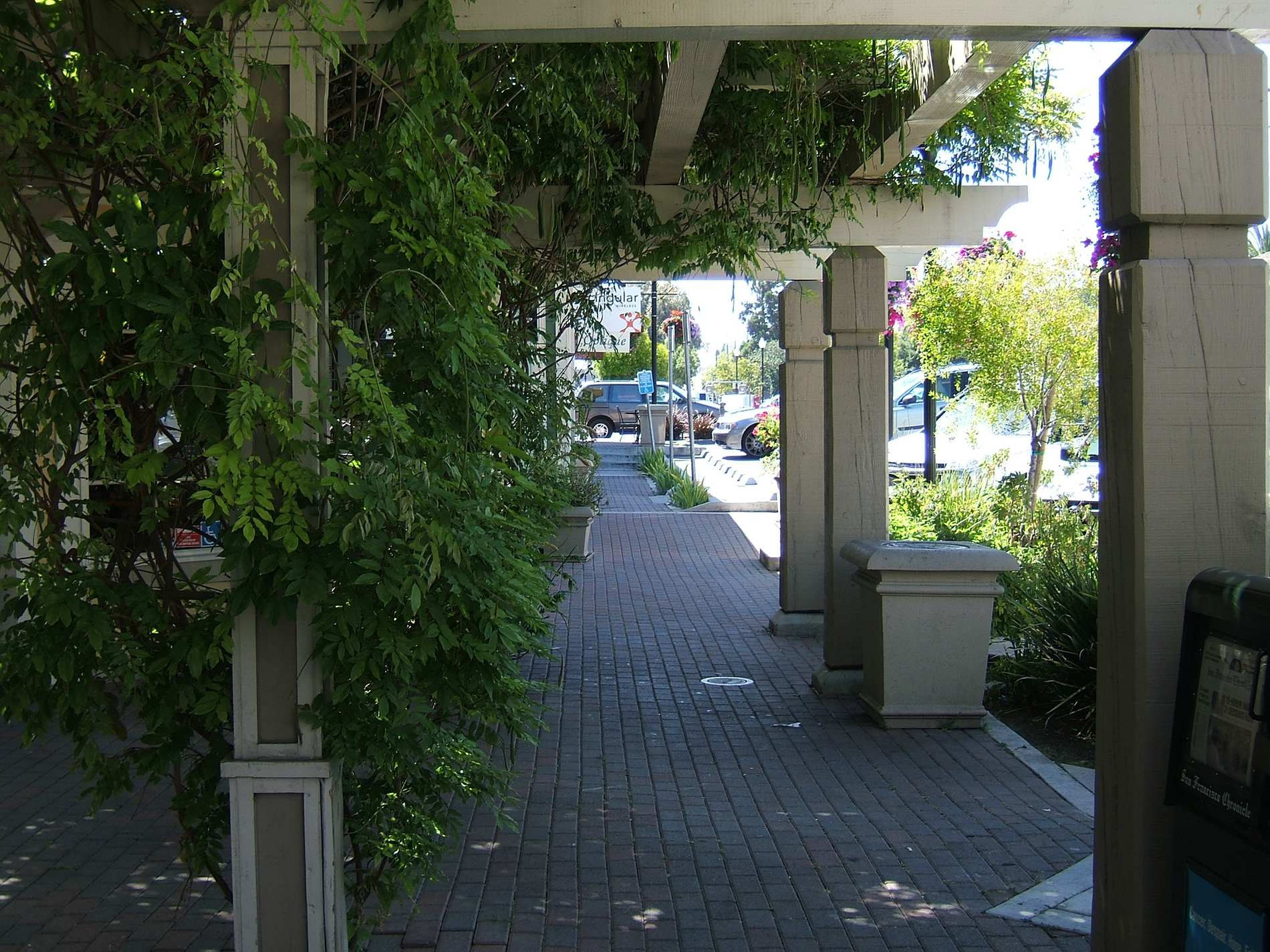 Pavers Commercial Walkway